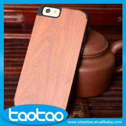 Wholesale mobile phone case for iphone 6 wood case, wood case for iphone 6 plus, professional mobile phone case factory