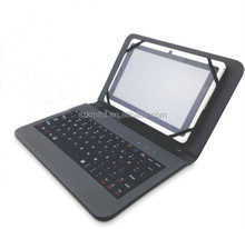 "7"" universal leather keyboard case for laptop/tablet"