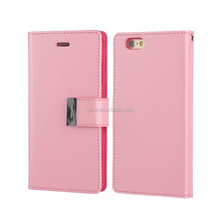 flip leather case for iPhone 6 4.7 inch , goospery rich diary