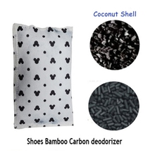High quality air purifiying absorber activated carbon mesh bag /coal carbon bag