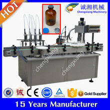 High speed filling capping and labeling machine