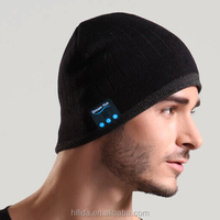 2015 Beautiful Design Best Seller Custom Beanie Hat Headphones with long stand by time 150 hours