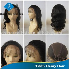 Stable Quality 100% Human Hair Body Wave Glueless wig manufacturer