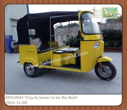 2014 Chongqing Manufactor New Style Top Selling Bajaj Tuk Tuk for sale