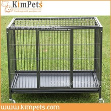 foldable stainless weld mesh dog cage
