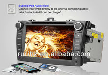 8 inch 2 Din 3D Animation UI Android 3G Wifi Car DVD Player with GPS