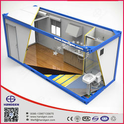 Portable luxury modular container hotel & prefab living container home