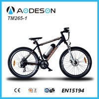 fastest electric bike TM265-1, high quality factory direct bikes