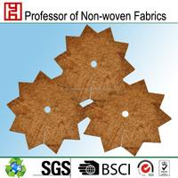 jute fiber nonwoven winter plant protection mat coco fiber mat natural fiber mats