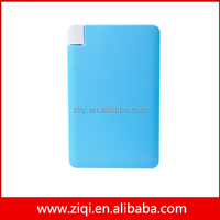 ultra slim power bank , credit card power bank ,portable and fashion free shipping power bank