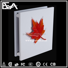 European leaves style Gypsum Plaster decorative indoor wall lamp with UL SAA VDE