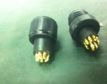 M12&M8 plug and socket solder cable electrical 3pin 4pin 8pin 12pin connector metal m12 connector black