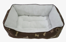 Eco-friendly cute luxury pet dog cushion