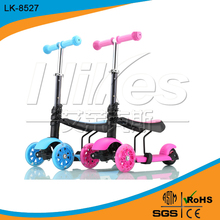 3in1 function kick child scooter for sale