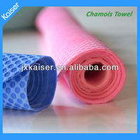 pva sytheic chamois material swimming sports towel