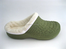 Winter Foot Warming garden clog slippers