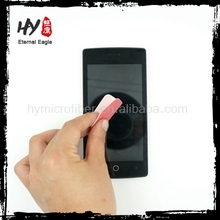 New Design sticky phone cleaning cloth, sticky screen cleaner for mobile phone, microfiber sticky clean cloth