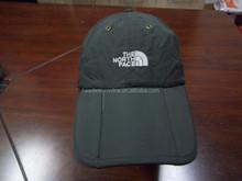 2015 Nylon Hot selling waterproof Folding Cap baseball cap