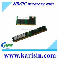 Alibaba factory offer NB/PC ram 1gb 2gb 4gb 8gb memory ddr ddr1 ddr2 ddr3