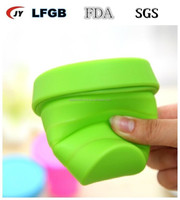Healthy Portable Travel Folding Silicone Cups