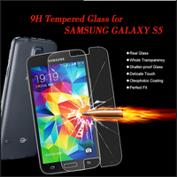 High quality mobile phone accessories & 9h milo tempered glass screen protector for samsung galaxy s5