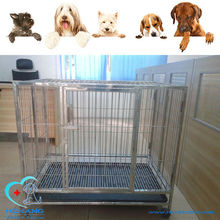 high quality beautiful stainless steel animal cage for cat