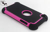 Slim Cover Case For iPod Touch 4 3in1 Flip Case For iPhone Touch 4 PC+TPU+Silicone Case