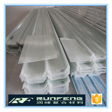 Factory price of 0.8mm UV protected green house frp panels