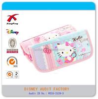 cute hello kitty girls school pencil case