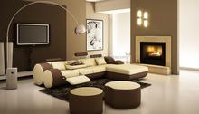 2015 New Design Top Garin Leather Corner Sofa for Living Room furniture 504B