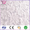 White Stretch Lace Fabric Wedding Bridal Lace Curtain Tulle Sheer Stretch Lace