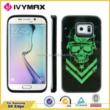 With various DIY pictures for S6 Edge case, water printing case for Samsung S6 Edge