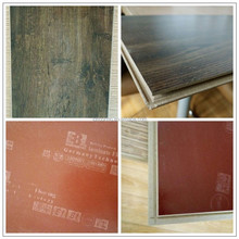 8.3mm rustic style small embossed laminated flooring export product