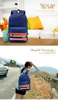 новый зимний сад стиль случайный холст сумка рюкзак школьный