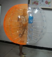 Hot sale top quality Dia1.2m/1.5m/1.8m&TPU/PVC soccer bubble