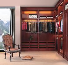 wooden solid oak bedroom wall wardrobe 2015 new design