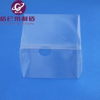 PVC/PET plastic tray / transport crate/clamshell pvc pet blister packaging for product