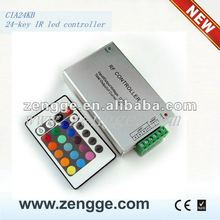 led IR controller 24key Strobe with LED strip and led power supply