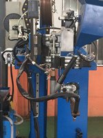 Shanghai Shining Tube Mill Stainless Steel Welding and Casting Machine
