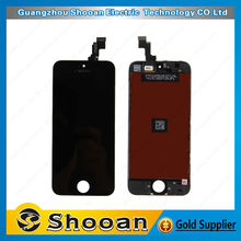 High quality digitizer for iphone5s touch,digitizer full assembly for iphone 5s