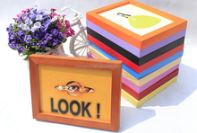 plexiglass picture photo frames with backboard