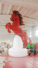 2015 customized inflatable horse for exhibition
