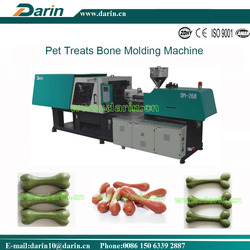 Chicken Flavored Dental Treats Snacks Bone Injection Moulding Machine