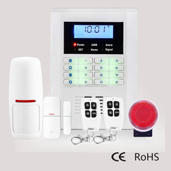Android APP Control Dual Network GSM PSTN Fire Alarm DY-GSM10B