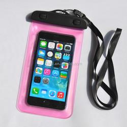 Waterproof transparent mobile cellphone bag