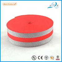 3.8cm/4cm high quality single face rubber string MOS webbing, stretch ribbon