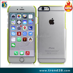 china suppliers ultra thin simple transparent plastic case cover for iphone 6