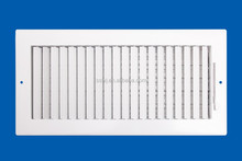 HVAC air conditioning duct stainless steel aluminum linear air diffuser