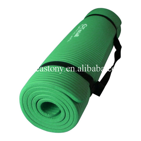 High Density Exercise Yoga Mat With Comfort Foam And
