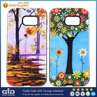Smart Phone Hybrid 3D Case For Samsung For Galaxy S6 Hard Cover